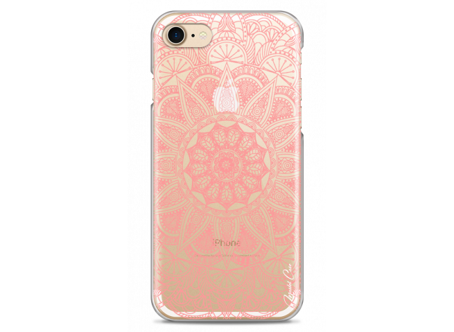 Coque iPhone 7Plus/8Plus Pink Mandala