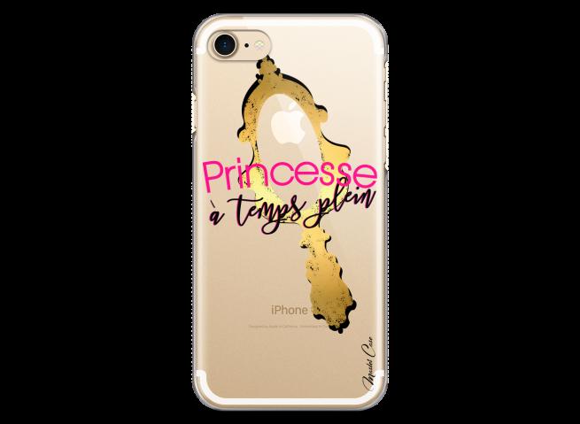 Coque iPhone 7Plus/8Plus Princesse à temps plein