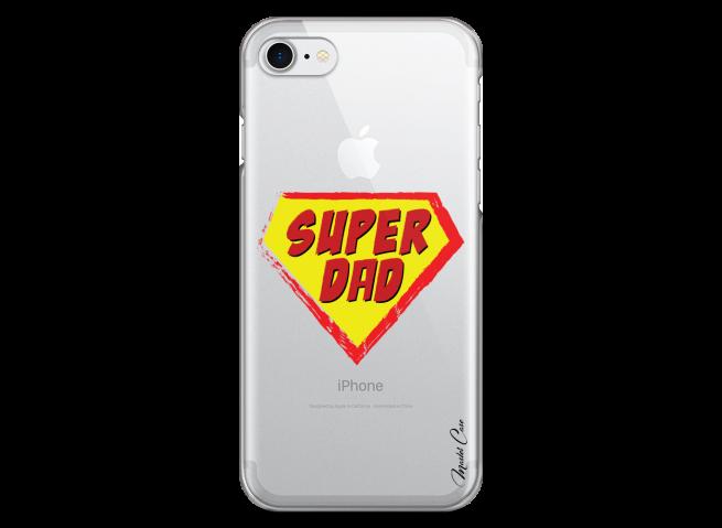 Coque iPhone 7/8 Super Dad - design