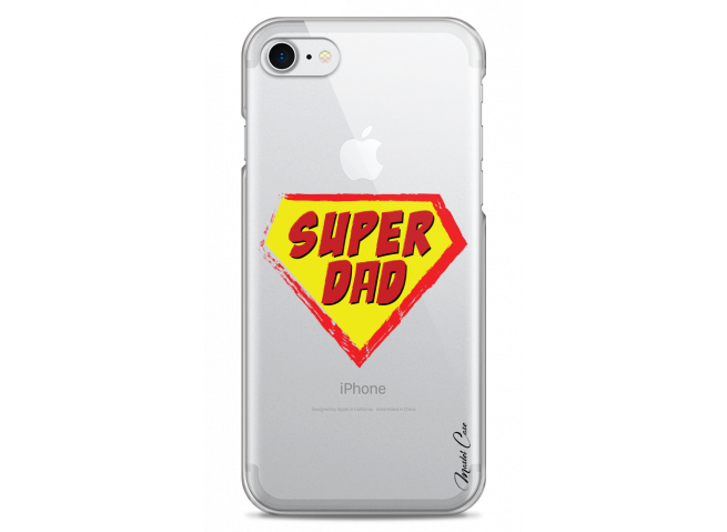 Coque iphone 7Plus/8Plus Super Dad - design