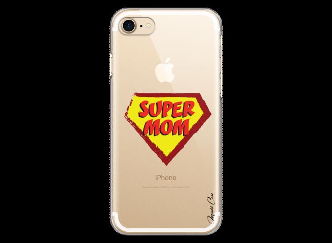 Coque iphone 7Plus/8Plus Super Mom - design