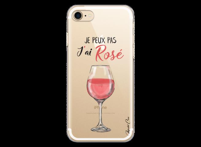 Coque iPhone 7Plus/8Plus J'ai rosé