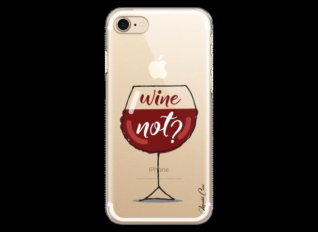 Coque iPhone 7Plus/8Plus Wine not?