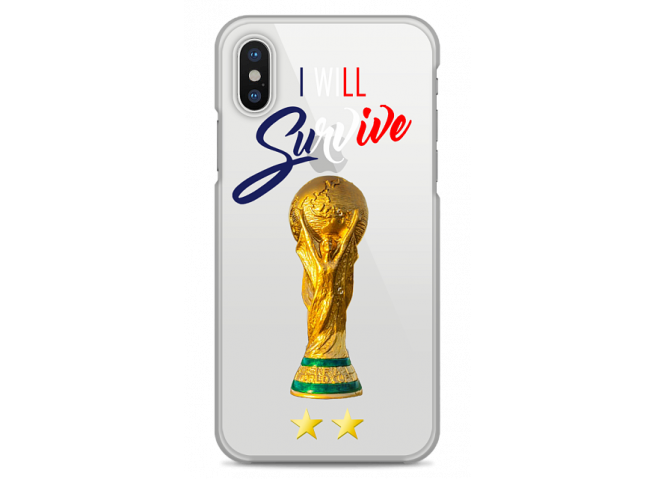 Coque iPhone XR I will survive