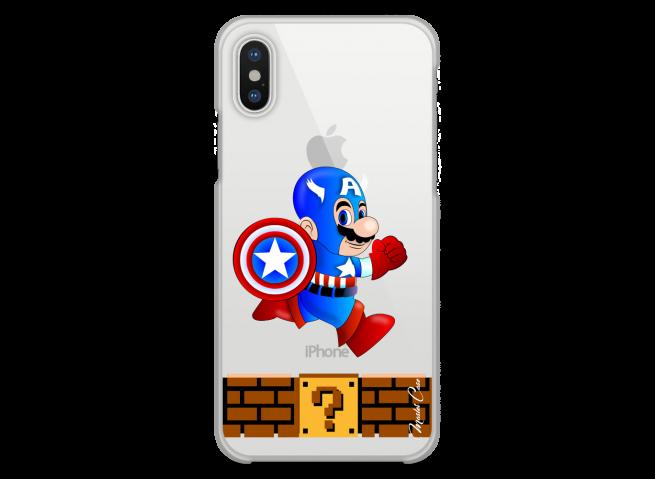 Coque iPhone X Mario Captain