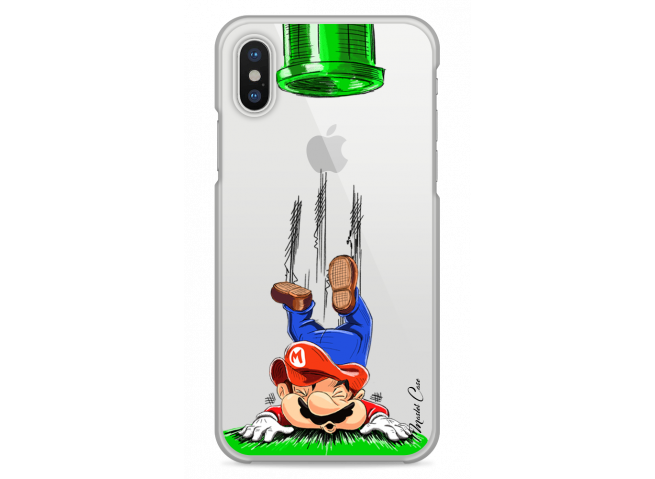Coque iPhone XS MAX Mario game over