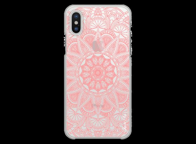 Coque iPhone XR Pink Mandala