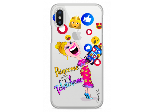 Coque iPhone XS MAX Princesse très Tchatcheuse
