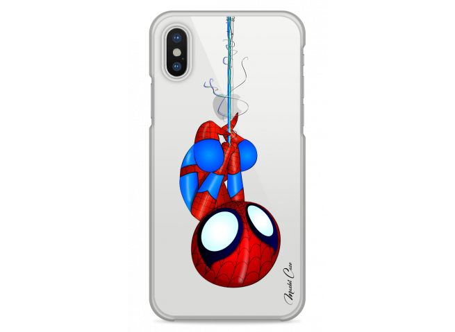 Coque iPhone X Spider-Man super héros