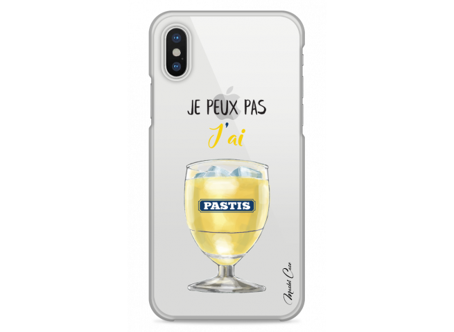 Coque iPhone  XS MAX J'ai pastis