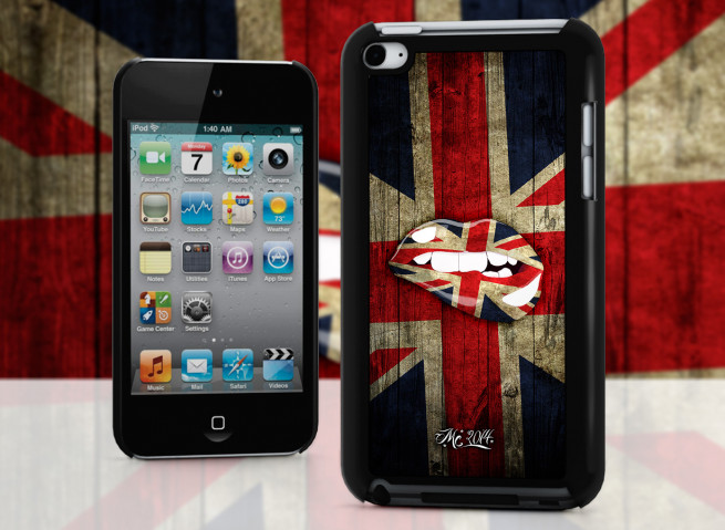 Coque iPod Touch 4 Lips Coupe du Monde 2014-UK