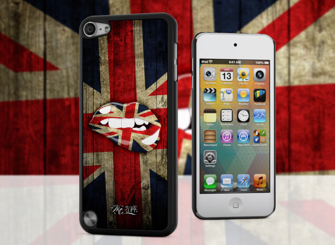 Coque iPod Touch 5 Lips Coupe du Monde 2014-UK