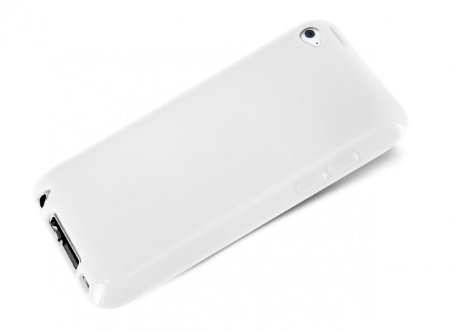 Coque iPod Touch 4 Silicone Blanche