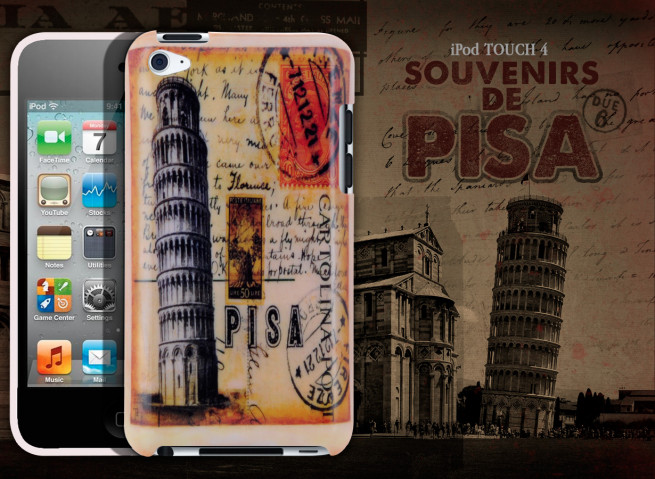 Coque iPod Touch 4 Souvenirs de Pisa