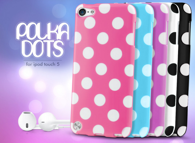 Coque iPod Touch 5 Polka Dots