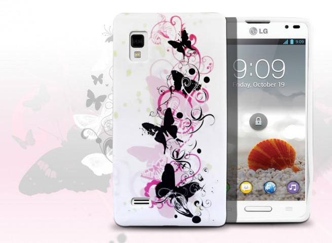 Coque LG Optimus L9 Butterfly Flex