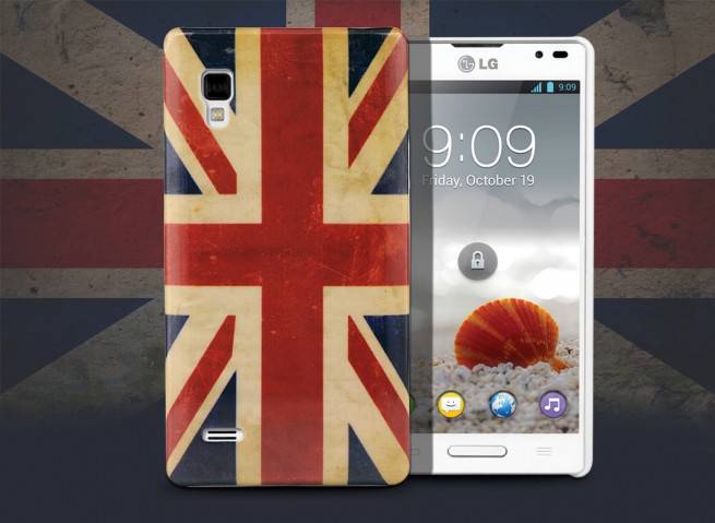 Coque LG Optimus L9 Vintage UK