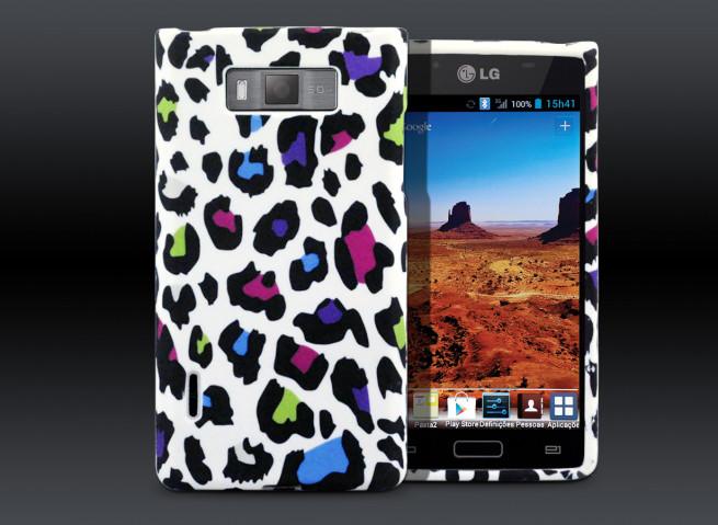 Coque LG Optimus L7 Leop'Art