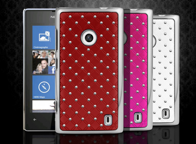 Coque Nokia Lumia 520 Luxury Leather