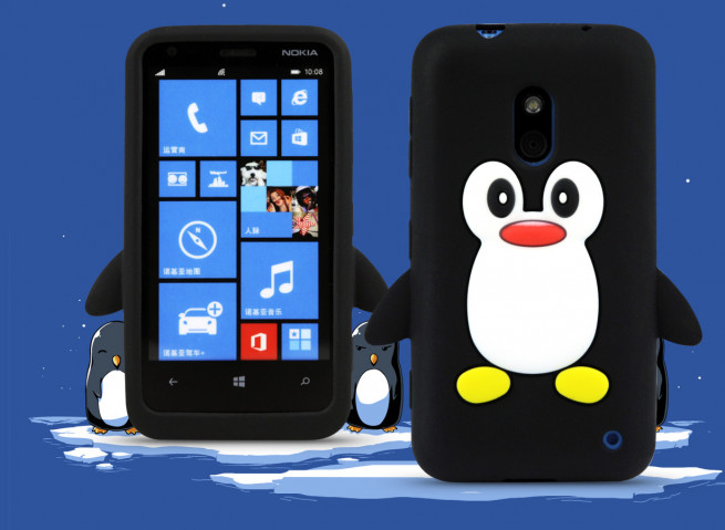 Coque Nokia Lumia 620 - Pingouin