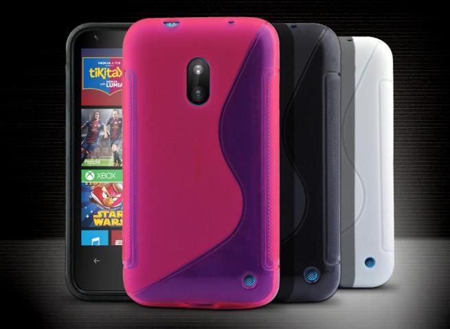 Coque Nokia Lumia 620 Silicone Grip