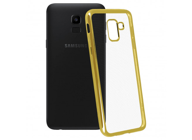 Coque Samsung Galaxy J6 2018 Gold Flex