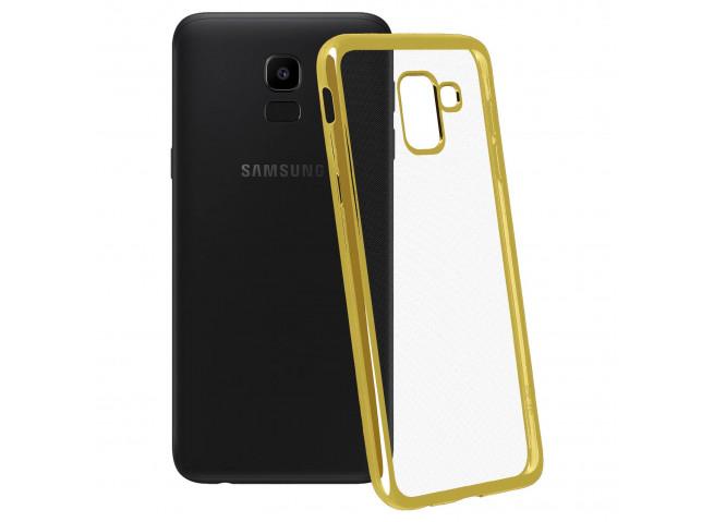 Coque Samsung Galaxy J6 Plus Gold Flex