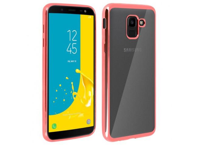 Coque Samsung Galaxy J6 2018 Rose Gold Flex