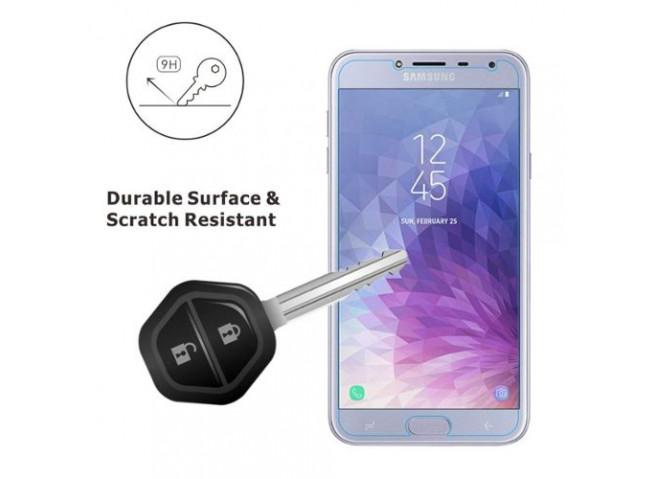 Film protecteur Samsung Galaxy A9 2018 en verre trempé (not full screen)
