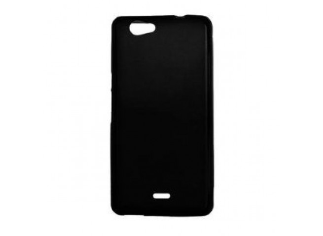 Coque Wiko Highway Signs Silicone Glossy-Noir