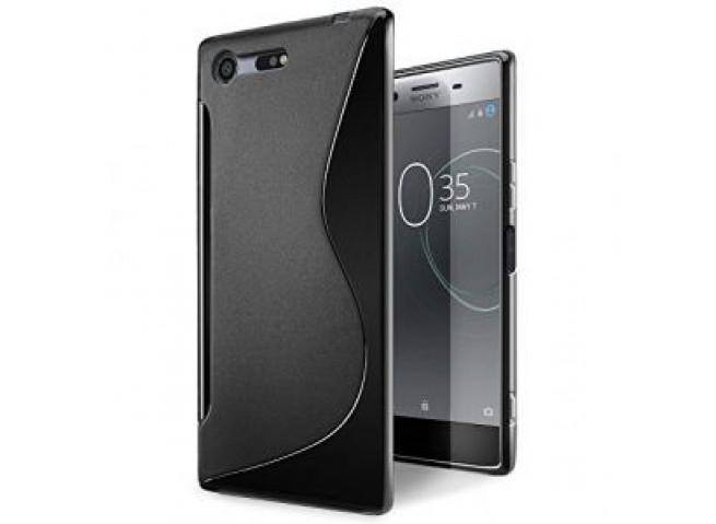 Coque Sony Xperia XZ Premium Silicone Grip-Noir