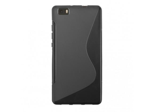 Coque Huawei P9 Lite Silicone Grip Noir