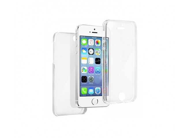 coque iphone 5 5s se int grale 360 transparent master case. Black Bedroom Furniture Sets. Home Design Ideas