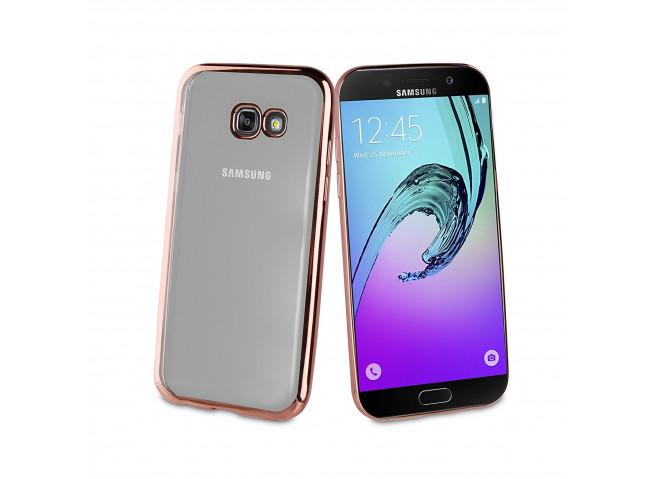 Coque Samsung Galaxy A8 2018 Rose Gold Flex
