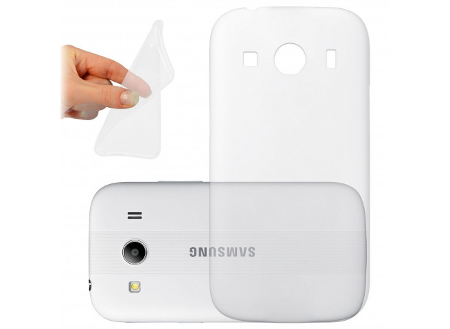 Coque Samsung Galaxy Ace 4 Clear Flex