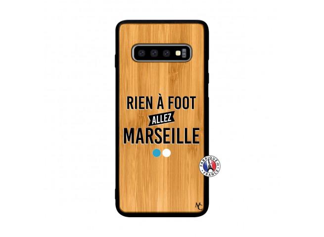Coque Samsung Galaxy S10 Rien A Foot Allez Marseille Rien A Foot Allez Marseille