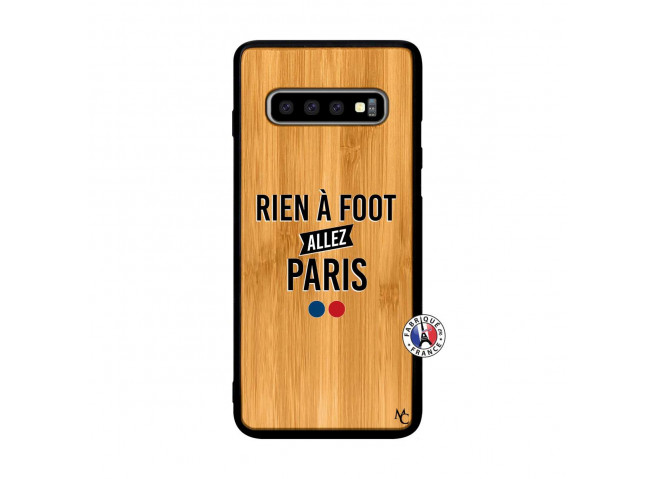 Coque Samsung Galaxy S10 Rien A Foot Allez Paris Rien A Foot Allez Paris
