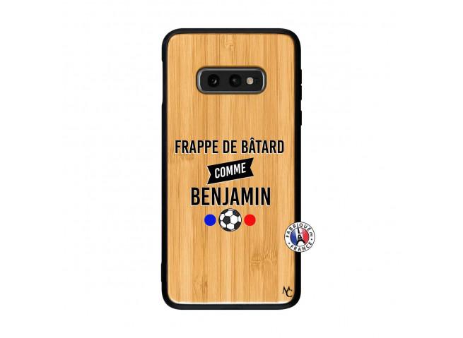 Coque Samsung Galaxy S10e Frappe De Batard Comme Benjamin Bois Bamboo