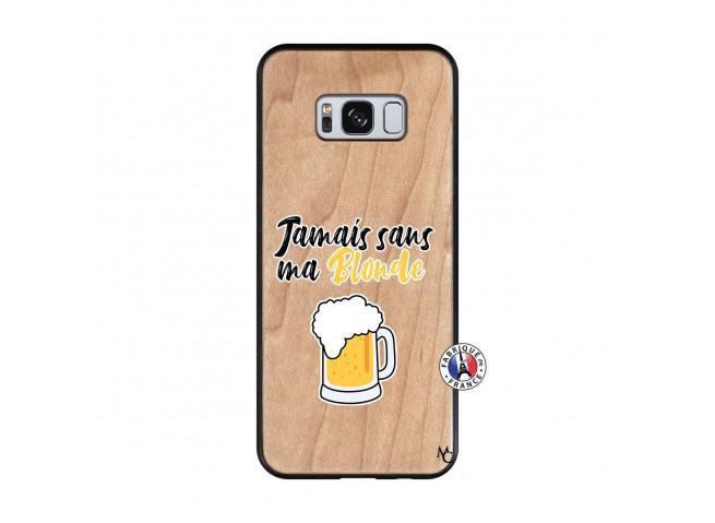 Coque Samsung Galaxy S8 Jamais Sans Ma Blonde Bois Bamboo