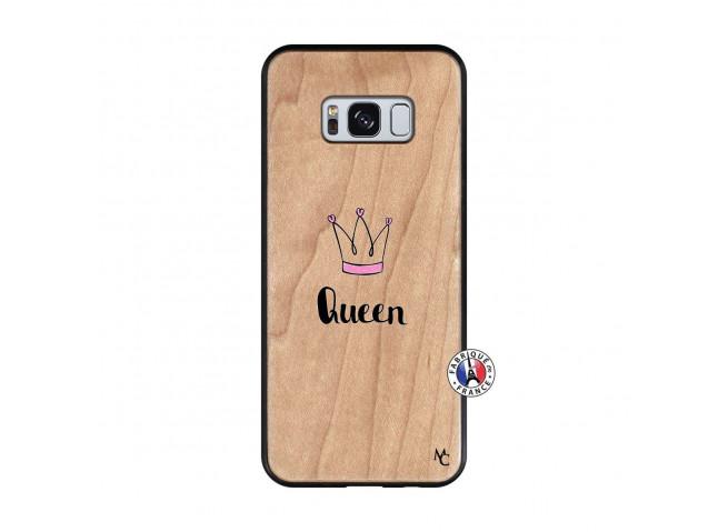 Coque Samsung Galaxy S8 Queen Bois Bamboo