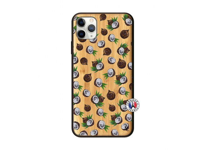 Coque iPhone 11 PRO MAX Coco Bois Bamboo
