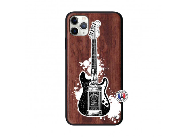 Coque iPhone 11 PRO MAX Jack Let's Play Together Bois Walnut