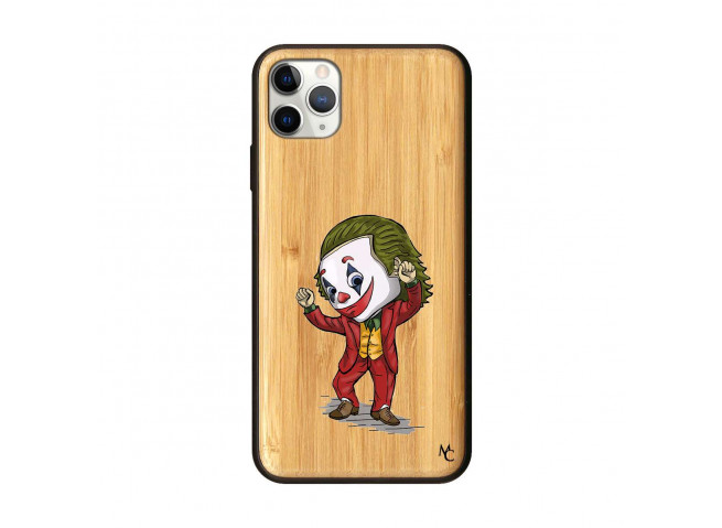 Coque iPhone 11 PRO MAX Joker Dance Bois Bamboo