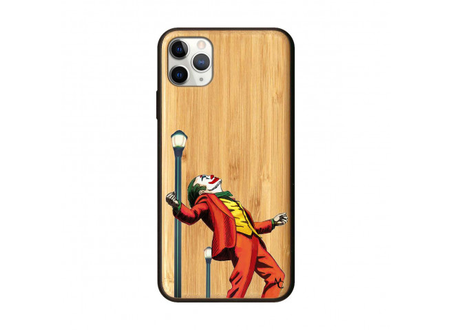 Coque iPhone 11 PRO MAX Joker Bois Bamboo