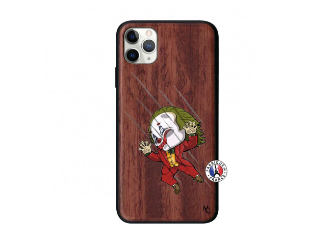 Coque iPhone 11 PRO MAX Joker Impact Bois Walnut