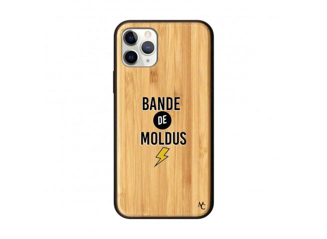 Coque iPhone 11 PRO Bande De Moldus Bois Bamboo