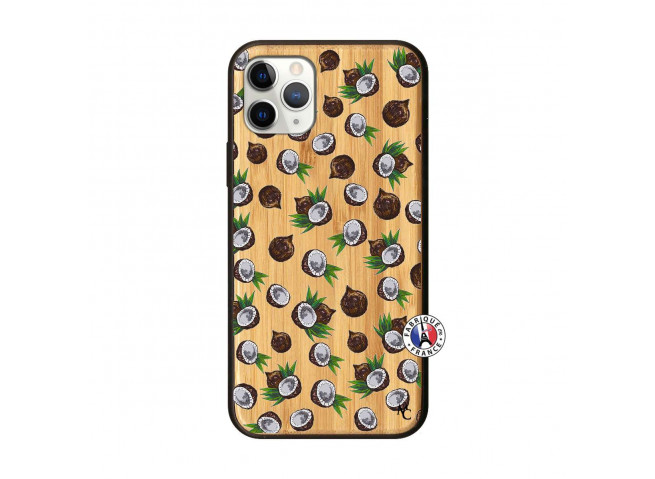 Coque iPhone 11 PRO Coco Bois Bamboo
