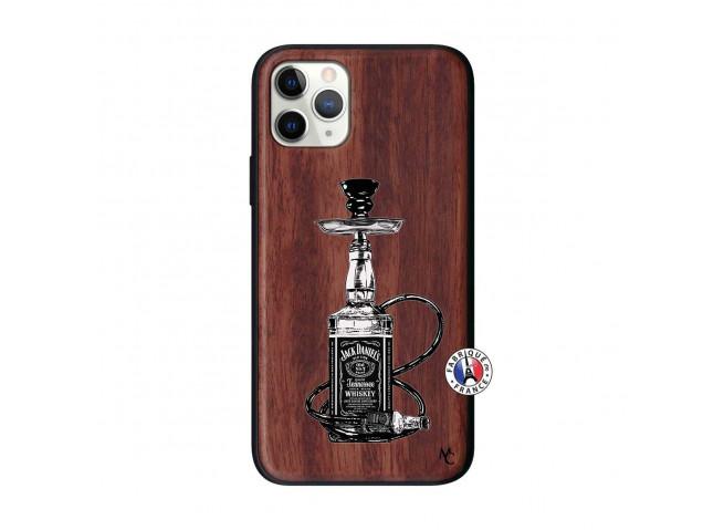 Coque iPhone 11 PRO Jack Hookah Bois Walnut