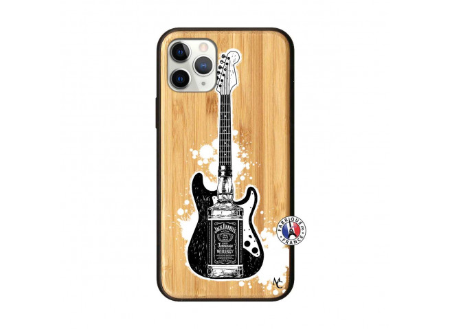 Coque iPhone 11 PRO Jack Let's Play Together Bois Bamboo