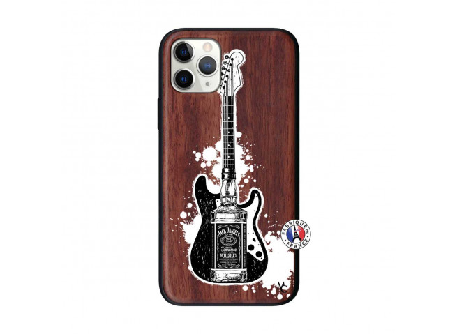 Coque iPhone 11 PRO Jack Let's Play Together Bois Walnut